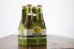 Somerby-Apfelwein Lizenzfreies Stockfoto