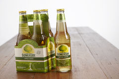 Somerby cider. Kuala Lumpur Malaysia 2nd December 2016, Somersby cider is a brand of 4.5% abv cider by Danish brewing company Carlsberg Group. Developed in 2008 stock photography