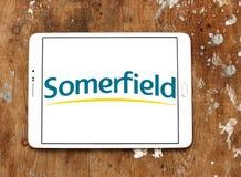 Somerfield armazena o logotipo Fotografia de Stock