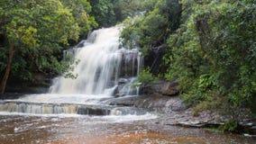 Somers dalle cascate, Somersby, Nuovo Galles del Sud, Australia Fotografia Stock Libera da Diritti