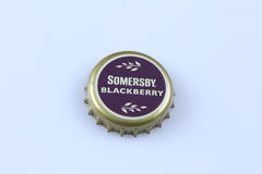 Somersby bottle cap Stock Images