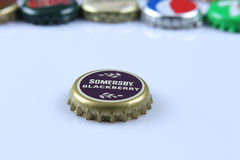 Somersby bottle cap Royalty Free Stock Image