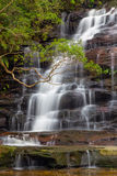 Somersby Falls in Australia. Somersby Falls - a beautiful waterfall on the NSW central coast, Australia Royalty Free Stock Photo