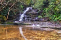 Somersby falls royalty free stock photography