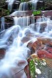 Somersbydalingen, Australische waterval, Nieuw Zuid-Wales, Australië Stock Fotografie