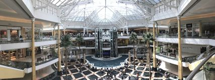 Somerset Collection mall in Michigan USA royalty free stock photography