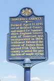 Somerset country Pennsylvania, USA- May 19, 2014. Street sign in. Formation of Somerset city stock image