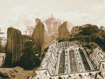 Somerset Double Exposure Fotografía de archivo libre de regalías