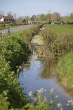 Somerset-Flussszene Stockfoto