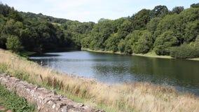 Somerset Hawkridge reservoir Quantock Hills England Stock Photography