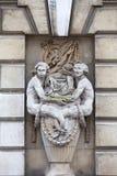 Somerset House constructivo neoclásico en el jardín de Covent del distrito, Londres, Reino Unido Fotografía de archivo libre de regalías
