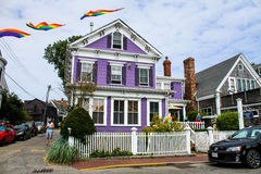 Somerset House Inn, Provincetown, MA. Royalty Free Stock Images