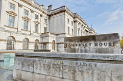 Somerset House at London, England Stock Photography