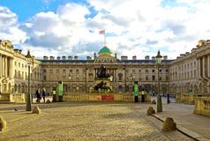 Somerset House, London stock image