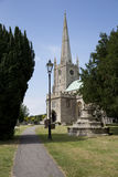Somerset-Kirche des 13. Jahrhunderts Lizenzfreies Stockfoto