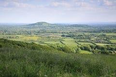 Somerset landskap arkivbilder