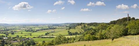 Somerset Levels Lizenzfreie Stockbilder