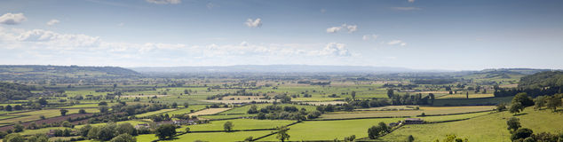 Somerset Levels Stock Image