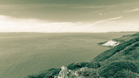Somerset Seascape A photographie stock