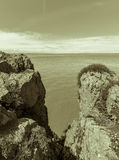 Somerset Seascape F image stock