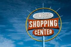 Somerset Shopping Center Sign Las Vegas Stock Images