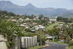 Somerset West nella Provincia del Capo Occidentale Sudafrica Fotografie Stock Libere da Diritti