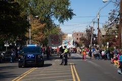 Somerville, Μασαχουσέτη, ΗΠΑ - 11 Οκτωβρίου 2015 - φεστιβάλ ΚΟΡΝΑΡΊΣΜΑΤΟΣ των ζωνών οδών ενεργών στελεχών Στοκ Εικόνες