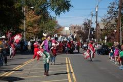 Somerville, Μασαχουσέτη, ΗΠΑ - 11 Οκτωβρίου 2015 - φεστιβάλ ΚΟΡΝΑΡΊΣΜΑΤΟΣ των ζωνών οδών ενεργών στελεχών Στοκ Εικόνα