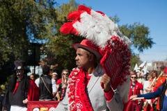 Somerville, Μασαχουσέτη, ΗΠΑ - 11 Οκτωβρίου 2015 - φεστιβάλ ΚΟΡΝΑΡΊΣΜΑΤΟΣ των ζωνών οδών ενεργών στελεχών Στοκ φωτογραφίες με δικαίωμα ελεύθερης χρήσης