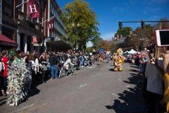 Somerville, le Massachusetts, Etats-Unis - 11 octobre 2015 - CORNEZ le festival des bandes de rue d'activiste photo libre de droits