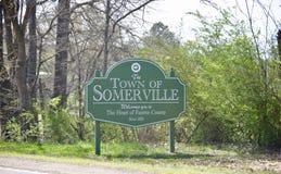Somerville Tennessee The Heart van Fayette-Provincie Stock Foto's