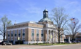 Somerville Tennessee Old Courthouse Stock Fotografie