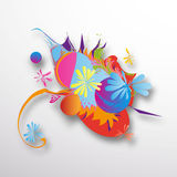 Something Colorful Abstract Digital Art Stock Images