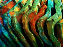 Something full color. This is a roof tile composed and rich color stock image