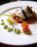 ,something japanese. Japanese food on a plate buloy Stock Photo