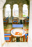 Something to drink in budapest. Cafè in Fishermen's Bastion in Budapest Stock Photography