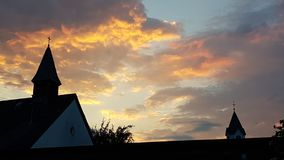 Eavening sky. Sometimes it needs no filter royalty free stock images