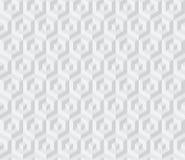 Sometric geometric pattern Royalty Free Stock Photos