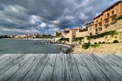 Somewhere in the Black Sea Stock Photos