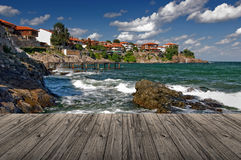 Somewhere in the Black Sea Stock Image