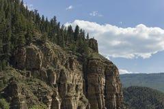 Somewhere in Colorado. A rocky mountainside in Colorado Stock Photography