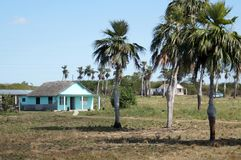 Somewhere in Cuba. Farmer house in Cuba countryside Stock Photography