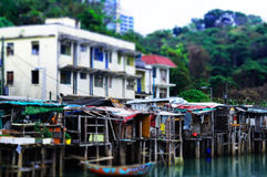 Somewhere in Hong Kong. Ma Wan Royalty Free Stock Photos