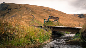 Somewhere in iceland. Beautiful scenery near a waterfall somewhere in iceland Stock Image