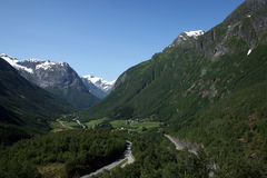 Somewhere in Norway Stock Image