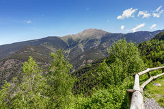 Somewhere at the Pyrenees in Andorra Royalty Free Stock Image