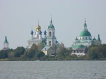 Somewhere in Russia. Great churhes and cathedrals of Russia royalty free stock image