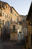 Somewhere in the Tuscany. Old town and narrow alleys, Tuscany, Italy, Southern Europe Stock Photos