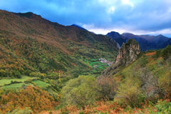 Somiedo natural park in Asturias, spain Stock Images
