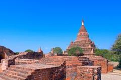 Somingyi Kyaung. Bagan. Myanmar. Royalty Free Stock Photo